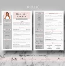 Creative Modern Resume Cv Template For Word And Pages