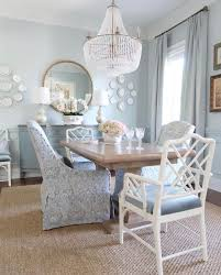 Ballard Designs Easter Pale Blue Dining Room Sisal Rug With Valspar Sea Salt Blue