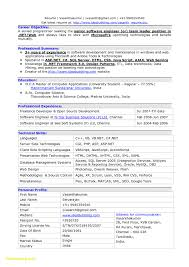 Software Engineer Resume Samples New Software Engineer Resume Sample