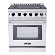 white electric range. Thor Kitchen - 30\ White Electric Range