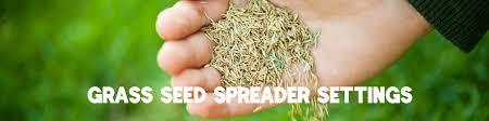 Grass Seed Spreader Settings Chuck Hafners Farmers Market