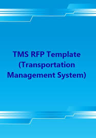 Tms Rfp Template (Transportation Management System)