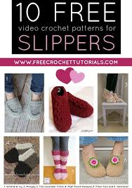 Youtube Free Crochet Patterns Simple 48 FREE YouTube Video Crochet Patterns For Slippers Free Crochet