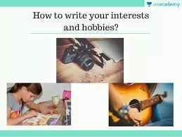 Right Way To Write Your Interests And Hobbies Resume Writing