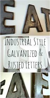 letter wall decor ative canada metal b ideas