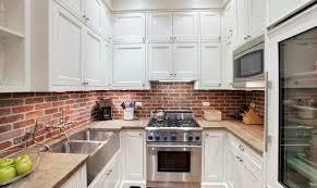 Brick Backsplash Kitchen Kitchen 50 Best Kitchen Backsplash Ideas For 2017 With Regard To