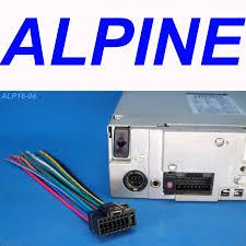 alpine stereo wire harness radio plug 16 pin head unit back clip