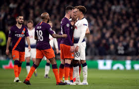 City manager pep guardiola spoke to sky sports after the game, saying: As It Happened Tottenham V Manchester City Champions League Quarter Finals