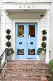 front doors dallasblue print blue front doors  boxwoods  dallas home store