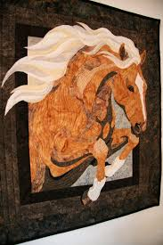 Horse Quilt Pattern Delectable Another Horse Sewgrateful Quilts