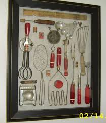 vintage kitchen tools. shadow box with inherited, vintage kitchen tools: if you\u0027ve been wondering what to do your mother and grandmother\u0027s tools (other than using