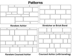 Ashlar Pattern Tile
