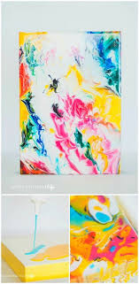 abstract marble effect ideas