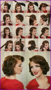 Coiffure Mariage Année 50 19111 Tuto Coiffure Retro Cheveux