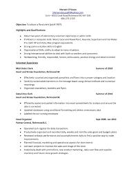 Postal Clerk Resume Sample Store Clerk Resume Sample Cashier 60 Combination Office File Best 27