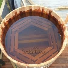 hot tub red cedar wooden barrel richy foshan