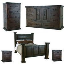 Granada Rustic Bedroom Set