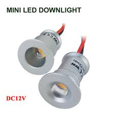 new dimmable recessed led downlight 1w dimming led spot light mini led ceiling lamp dc12v dc3v