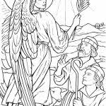 20 Free Printable Angel Coloring Pages For Adults