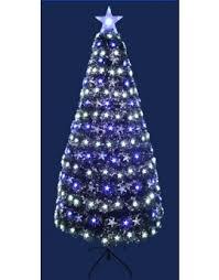 Buy HOME 4ft Fibre Optic Christmas Tree  Black At Argoscouk Black Fiber Optic Christmas Tree