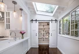sliding barn doors studio city kitchen pantry