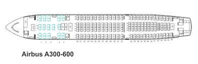 A310 300 Seating Chart Mahan Air Seat Map