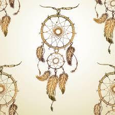 Cherokee Indian Dream Catcher Dream Catcher Seamless Pattern Stock Vector Illustration of 33