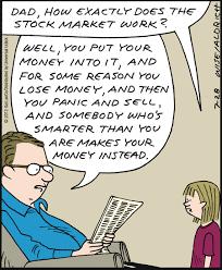 Humor Break How The Stock Market Works The Meridian Blog
