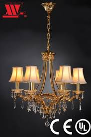 china new crystal chandelier with fabric lampshades china chandelier crystal chandelier