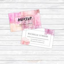 freelance makeup artist business card sles