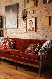 red brick furniture. Exposed Brick Wall Ideas Red Furniture