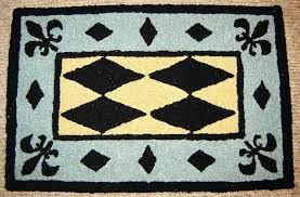fleur de lis bathroom rugs royal french luxury bath rug mat blue black cream fleur de lis bathroom rugs