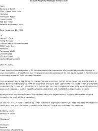 Cover Letter Apartment Manager Paulkmaloney Com