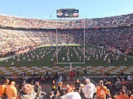 Neyland Stadium Section Y9 Home Of Tennessee Volunteers