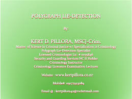 Polygraph Chart Definition Polygraph Examiner