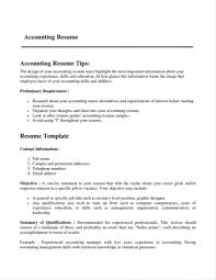 Resume Format For Accountant Lcysne Com