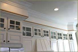 Kitchen Crown Moulding Kitchen Cabinets Molding Ideas Monsterlune