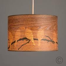 wood veneer lighting. Contemporary Bird Pattern Wood Veneer Cylinder Ceiling Pendant Light Shade  Home Wood Veneer Lighting