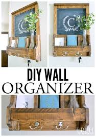 diy mail organizer corral the keys mail and other clutter with this easy wall organizer project diy mail organizer