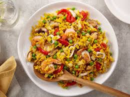 Easy Seafood and Rice - Recipes