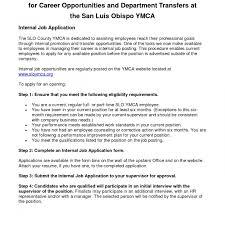 Charming Internal Job Posting Resume Examples Gallery Resume