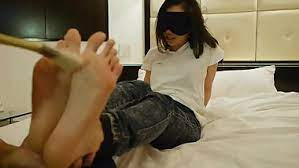 Japanese Tickle Feet Torture