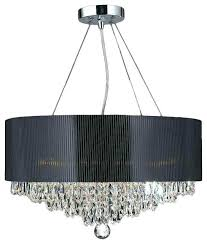 crystal chandelier with black drum shade drum crystal chandelier black drum shade chandelier elegant 8 light crystal chandelier with black drum shade