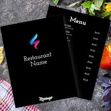 Menu Design Templates Menugo Restaurant Menu Templates