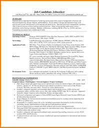 Entry Level Network Engineer Resume Sample Sample Resume For Entry Level Network Technician Danayaus 6