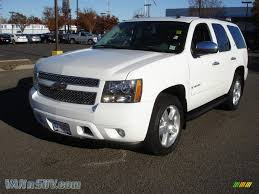 2007 Chevrolet Tahoe LTZ 4x4 in Summit White - 392645 | VANnSUV ...