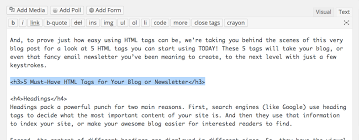 Html Quote Amazing Supercharge Your Blog Or Newsletter With HTML Tags