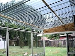 polycarbonate roof panels installation corrugated
