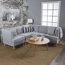 comfortable sectional sofa. Milltown 5pc Mid-Century Tufted Modular Sectional Sofa With Birch Wood  Legs, Comfortable, Comfortable Sectional Sofa