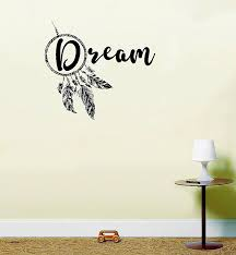 Dream Catcher Phrases Mesmerizing Elegant Wall Phrases Stickers Familytreeshistory